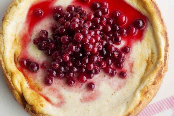 Cranberry cheese cake/Karpalojuustokakku
