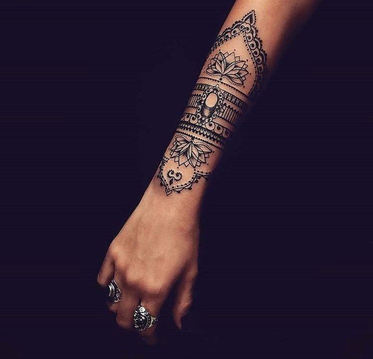Pin By Gunita Ieva On Ink Hand Tattoos Mandala Wrist Tattoo Wrist Tattoos