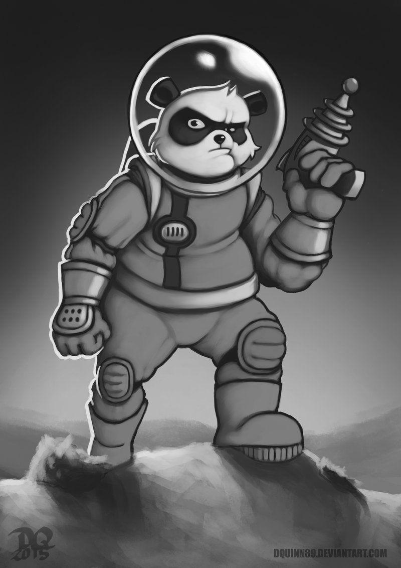 Space+Panda+by+DQuinn89.deviantart.com+on+@DeviantArt