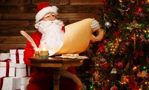 personalized letter from santa claus from rudolph express in
