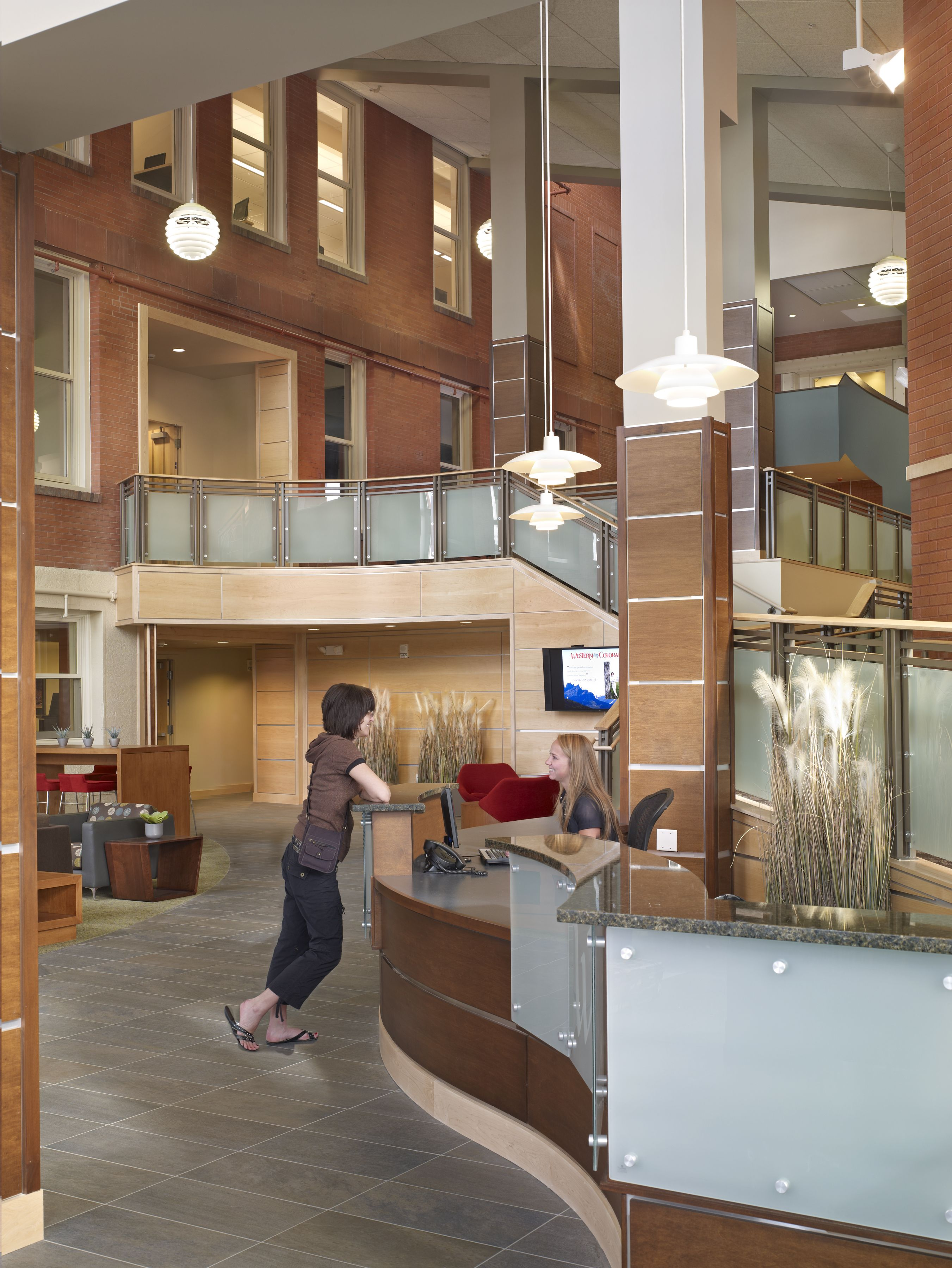 Western State Colorado University Taylor Hall Welcome Center Architecture Hord Coplan