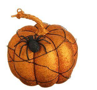 raz imports 7 glittered pumpkins perfectlyfestive httpwwwamazon halloween decorationspumpkinswitch