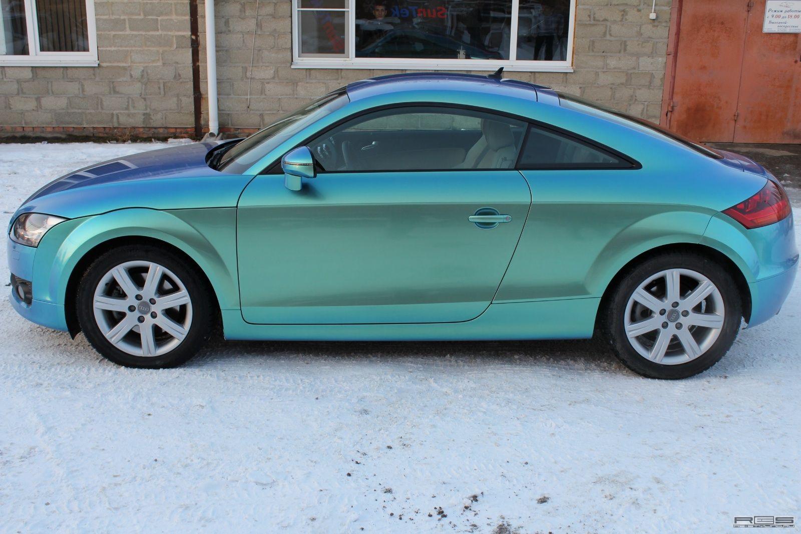 BlueGreen Chameleon Audi TT (con immagini)