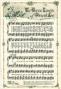 free printable christmas carols - Buscar con Google | Christmas ...