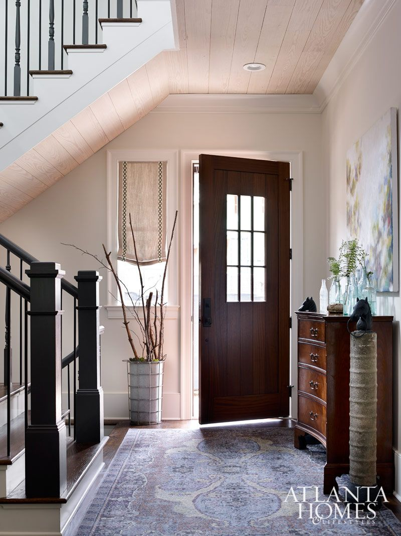 Entry & Stairhall | Design by Kerry Howard, KMH interiors // Photographed by Emily Followill | Atlanta Homes & Lifestyles