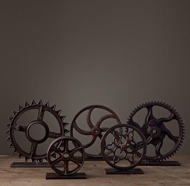 Wheel & Gear Collection $40-$95 ea  RESTORATION HDWE