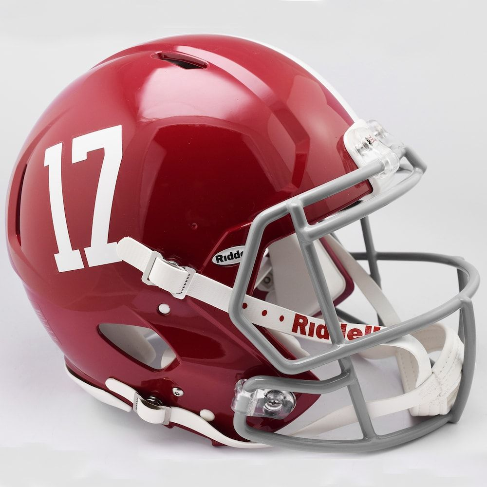 Riddell Alabama Crimson Tide Speed Authentic Replica Helmet Alabama Crimson Tide Alabama Crimson Football Helmets
