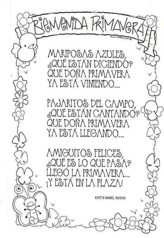 Poesia primavera spanish pinterest spanish for Jardin de invierno pablo neruda