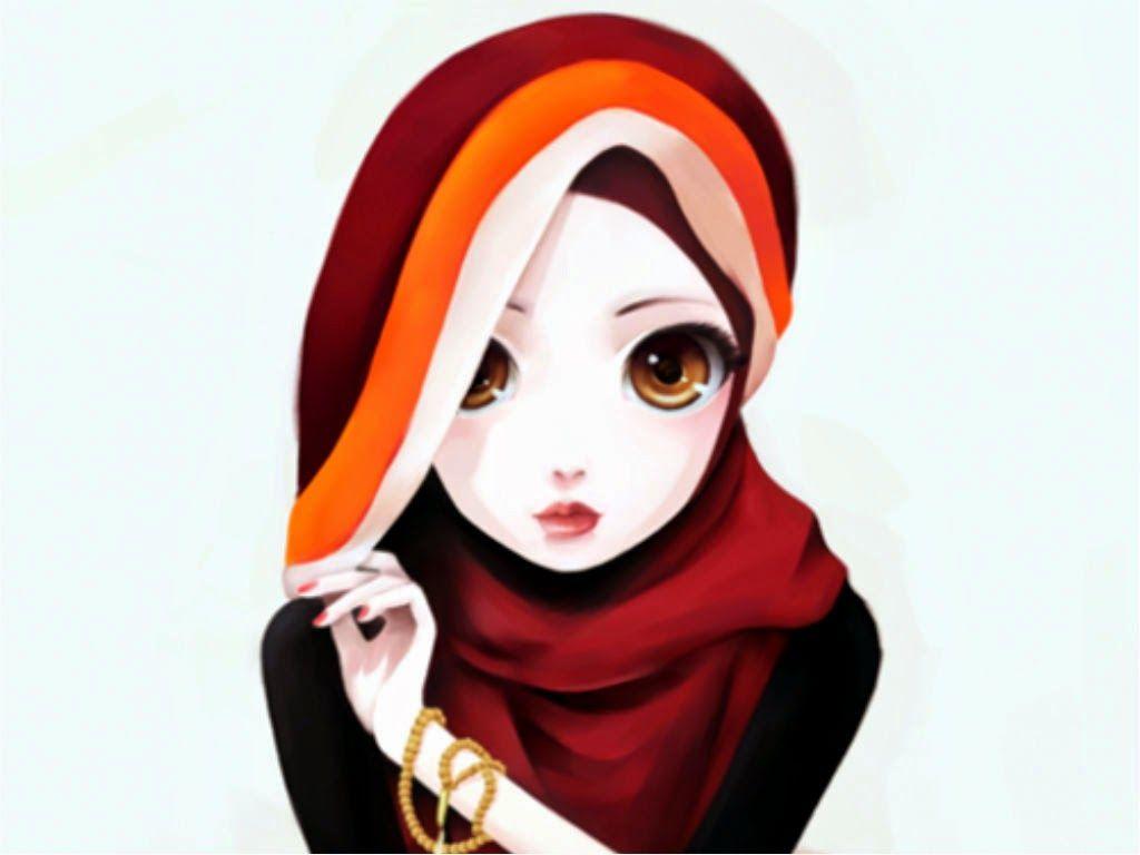 Ana Muslimah Cute Wallpaper Wallpaper Muslimah Cute Your Title Anime Muslimah Art