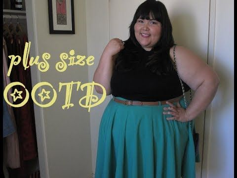 Sweet Day Look: Mock Turtleneck + Skater Skirt #plussize #fashion #ootd #asoscurve #wetsealplus