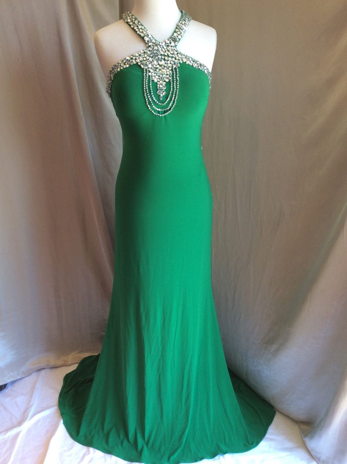 Cool great blush prom dress evening long formal cocktail sexy green