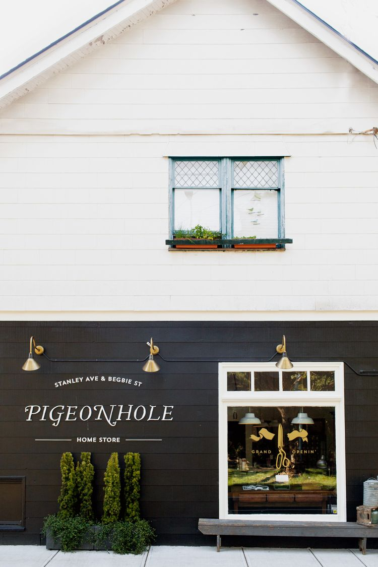 Pigeonhole Home Store | Store, Store fronts and Retail