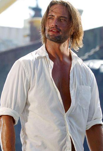 Sawyer - Lost. Josh Holloway, male actor, model, beard, sexy, hot, eyecandy, portrait, celeb, photo