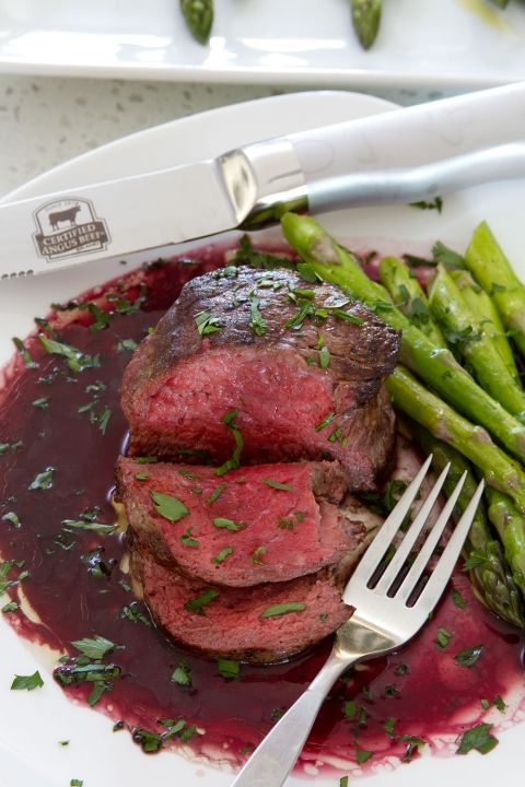 Classic Red Wine Steak Sauce Recipe With A Twist Healthy Pork Recipes Steak Sauce Recipes Wine Sauce For Steak