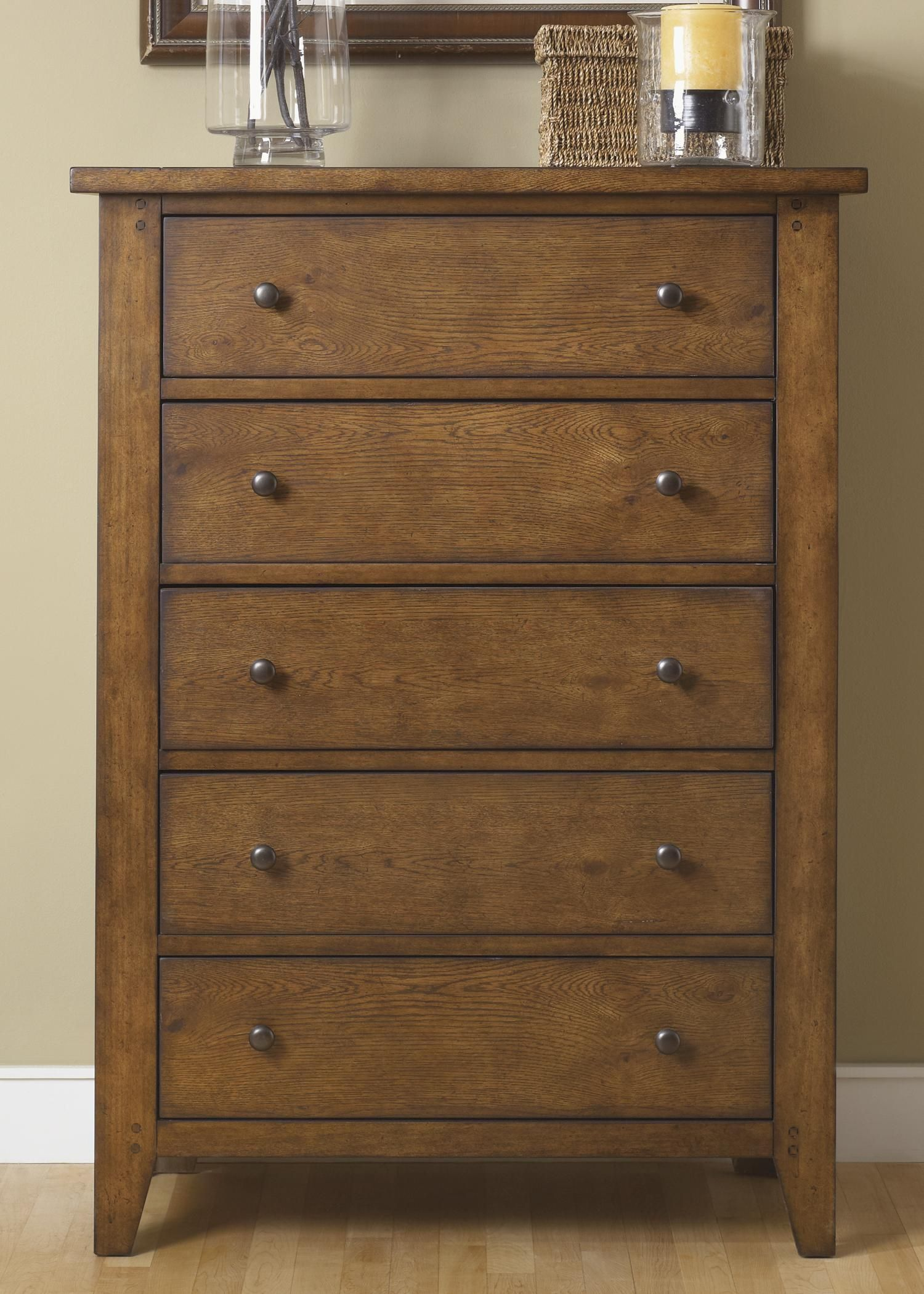 Hearthstone Five Drawer Chest By Liberty Furniture Darvin Furniture Chest Of Drawers Orland