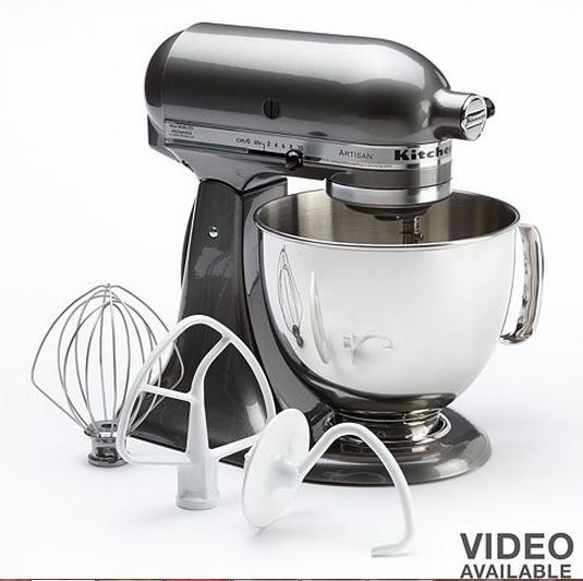 KitchenAid Artisan 5-qt. Stand Mixer Only $154.99! (reg. $349.99)