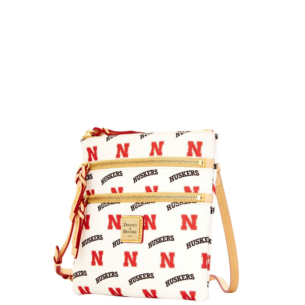 Nebraska Triple Zip Crossbody
