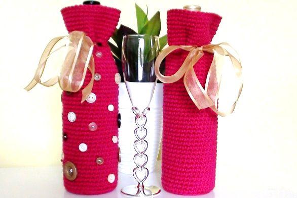 Crochet Wine Bottle Cover Pattern