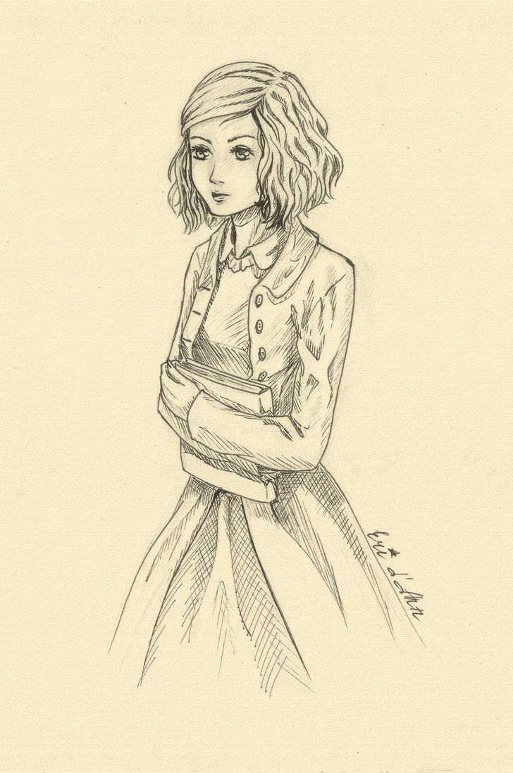 Liesel Meminger The Book Thief The Book Thief Books Sketches