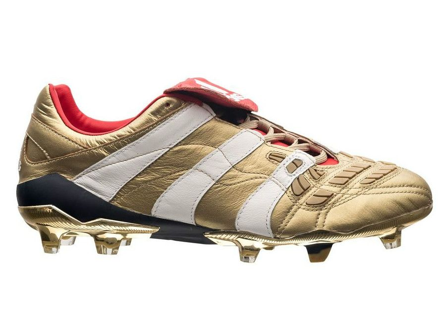 9d86f603b4cf7 Adidas Predator Accelerator FG Zinedine Zidane Boots - Gold Met / Ftwr White  / Collegiate Navy #Zidane #adidasfootball #adidassoccer…