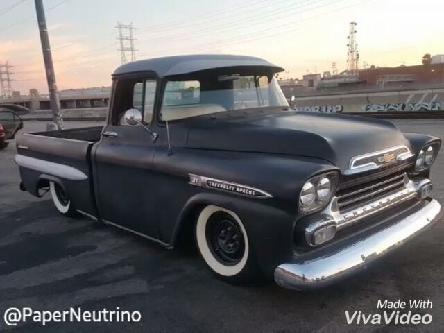 Chevy Apache Fleetside 1958 Or 59 Cars Motors And Gasoline