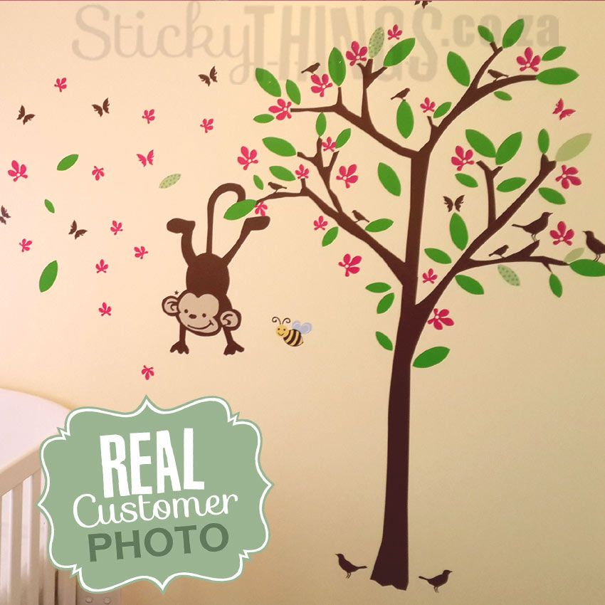 Monkey Wall Sticker Sticky Things Stickers South Africa Blog