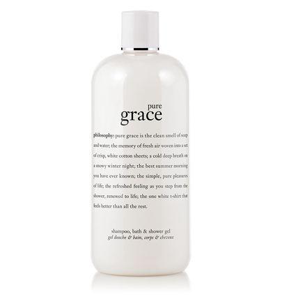 pure grace | shampoo, bath & shower gel | philosophy pure grace