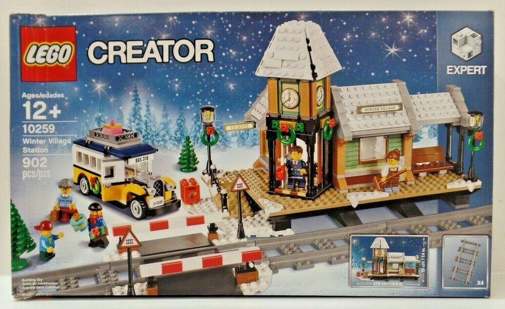 LEGO Creator Expert Winter Village Station 10259 Building Kit 902 Piece