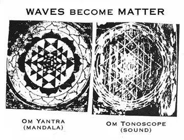 Om C 136 1 Hz Sri Yantra Om Sound Sound Waves