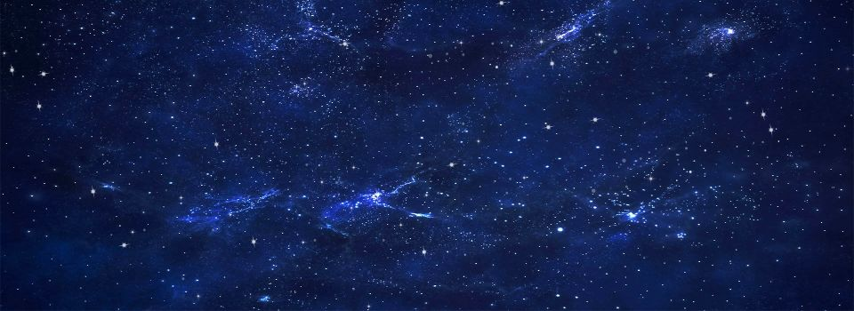 fond etoile bleu blue sky background