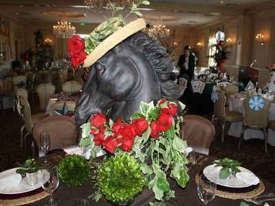 Superbe Kentucky Derby Table Decor Kentucky Derby Fundraiser, Kentucky Derby Party  Ideas, Table Top Decorations