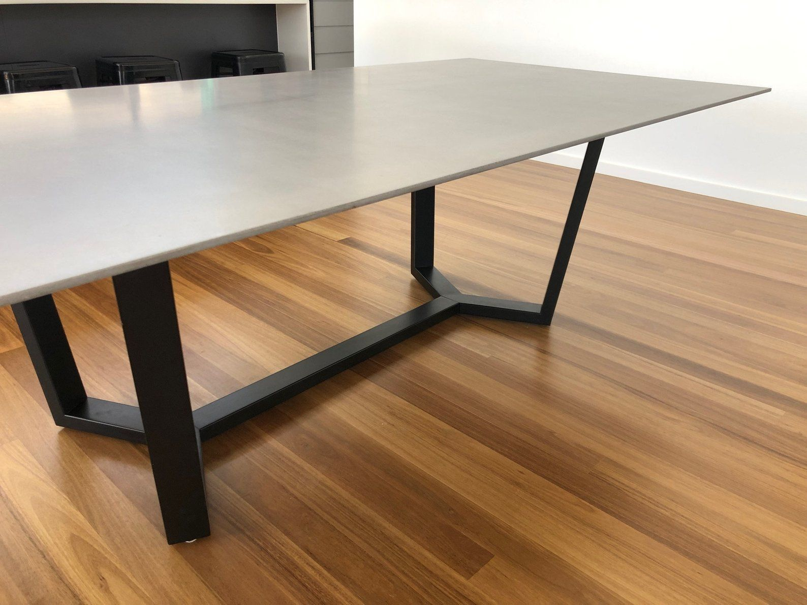 Tavolo da pranzo, base in metallo, tavolo, base da tavolo ...