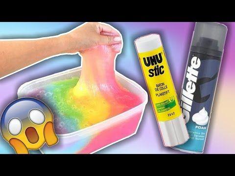 diy tuto comment faire du slime fluo facile avec un surligneur youtube slime slime diy. Black Bedroom Furniture Sets. Home Design Ideas