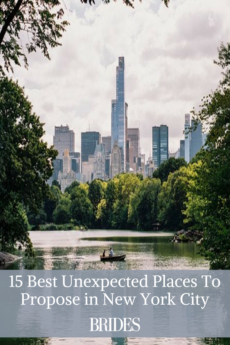 the 15 best unexpected places to propose in new york city