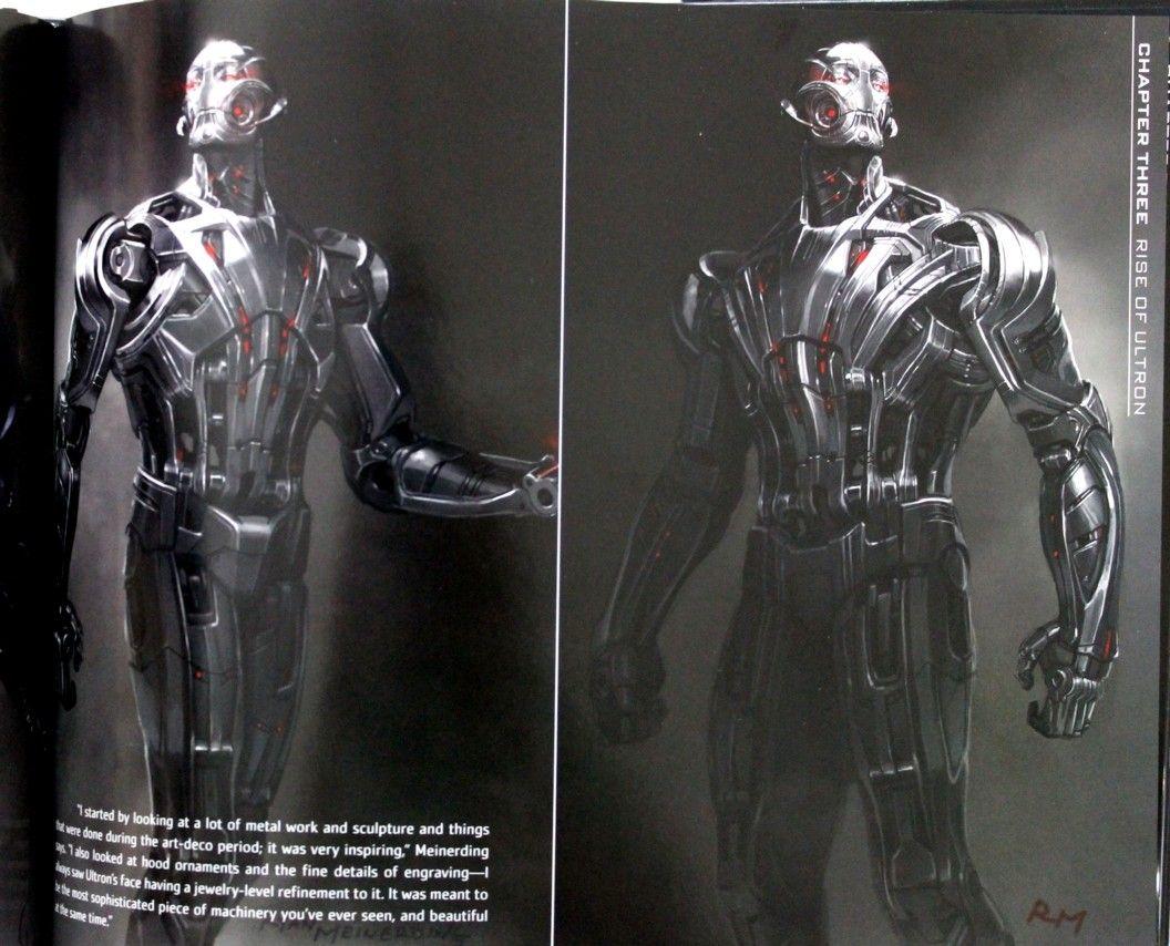 Más AVENGERS: EDAD DE ULTRON Concept Art Revela Temprano \'Ultimate ...