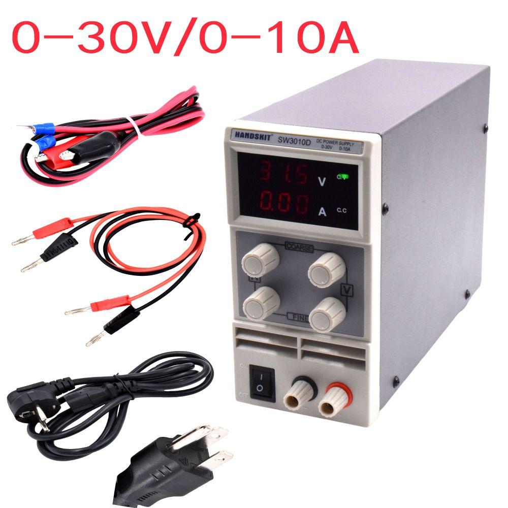 SW3010D Mini Digital DC regulator adjustable power supplier 30V ...
