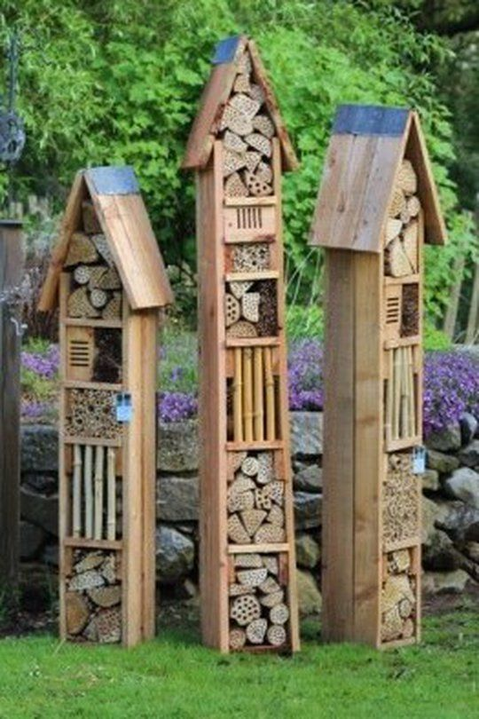 h tel insectes quoi a sert gardens bug hotel and insect hotel. Black Bedroom Furniture Sets. Home Design Ideas