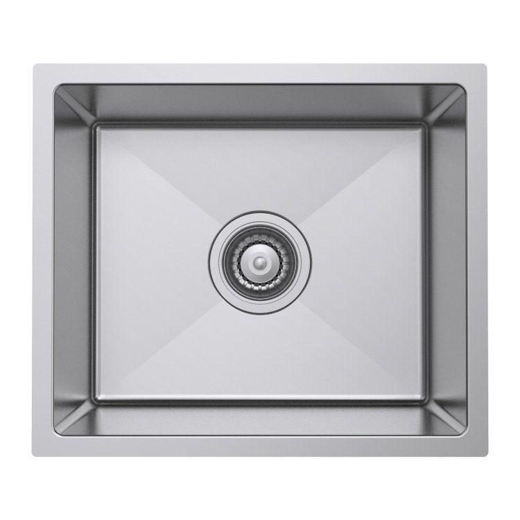 Castano Kitchen Toleda Single Square Undermount Sink Sstol1084a Undermount Sink Sink
