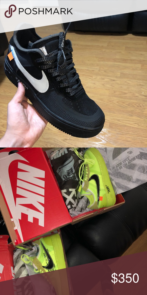 DHgate Off white air force no zip tag