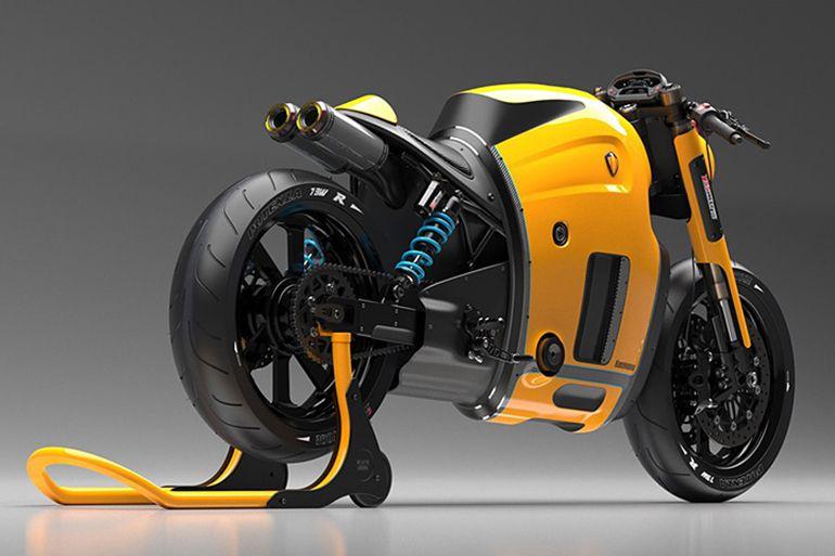 Artist Maksim Burov Designs a Koenigsegg Motorcycle