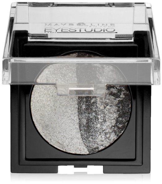 Maybelline New York Eye Studio Color Pearls Marbleized Eyeshadow, Duo Silver Spa