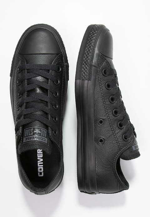 CHUCK TAYLOR ALL STAR OX - Baskets basses - black @ ZALANDO ...