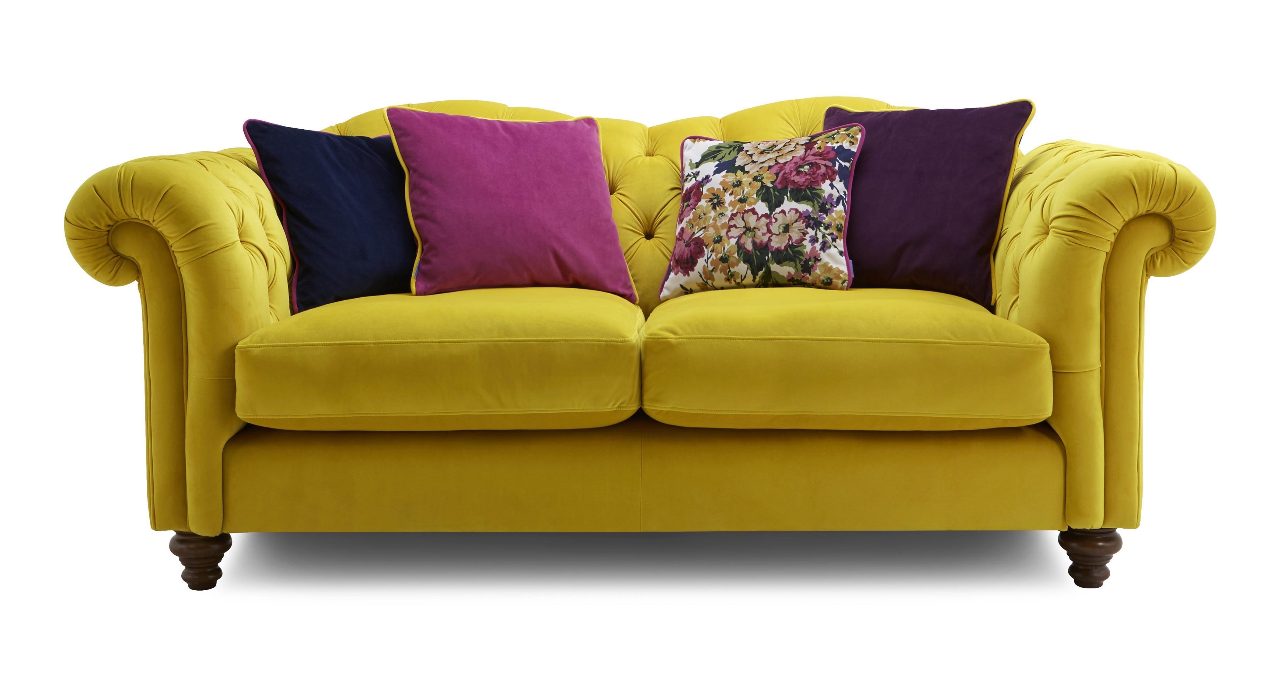 Windsor Velvet 3 Seater Sofa Windsor Velvet DFS in 2020