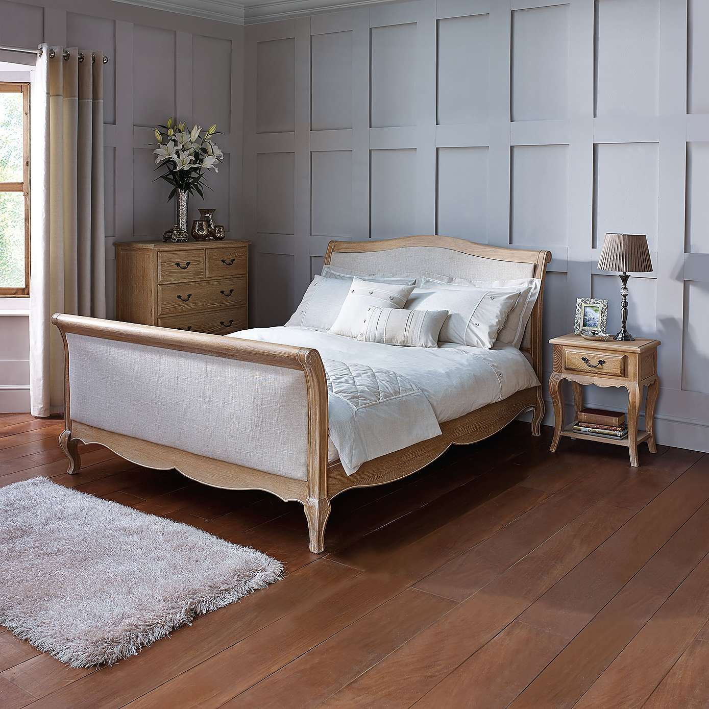 Natural Annabelle Bedroom Furniture Collection Dunelm