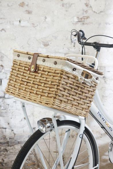 Bicycle Bike Steel Wire Basket W//Braces 333D Black New