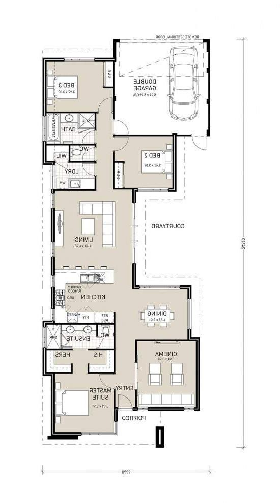 Garage House Plans Inspired From Different Kinds Of House Style Garage House Plans House Plans Narrow House Plans