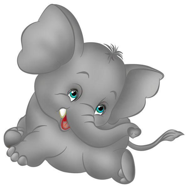 Pin by Ella Little on Clip Art Favorites   Baby elephant ...
