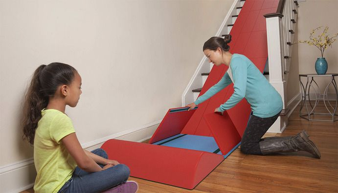 Ordinaire SlideRider: Turn Any Staircase Into A Slide