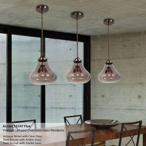 Oversized Blown Glass Pendants Brand Lighting Discount Lighting - Kitchen pendant lights for sale