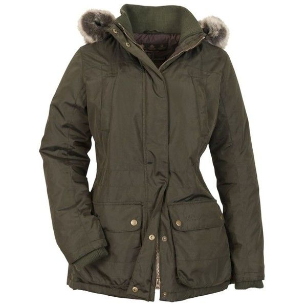 5da695328 Barbour Barbour Ladies Green Redesdale Waterproof Parka Jacket ($280 ...